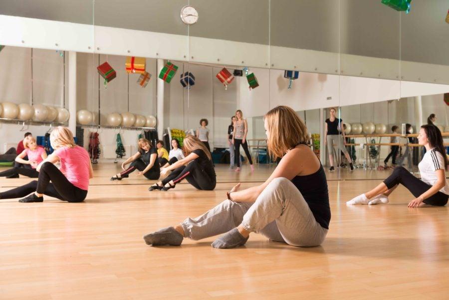 ダンススクール 風景