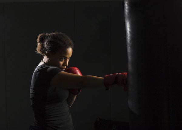 ボクシング 女性