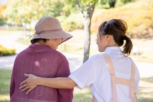 理学療法士とおばあちゃん